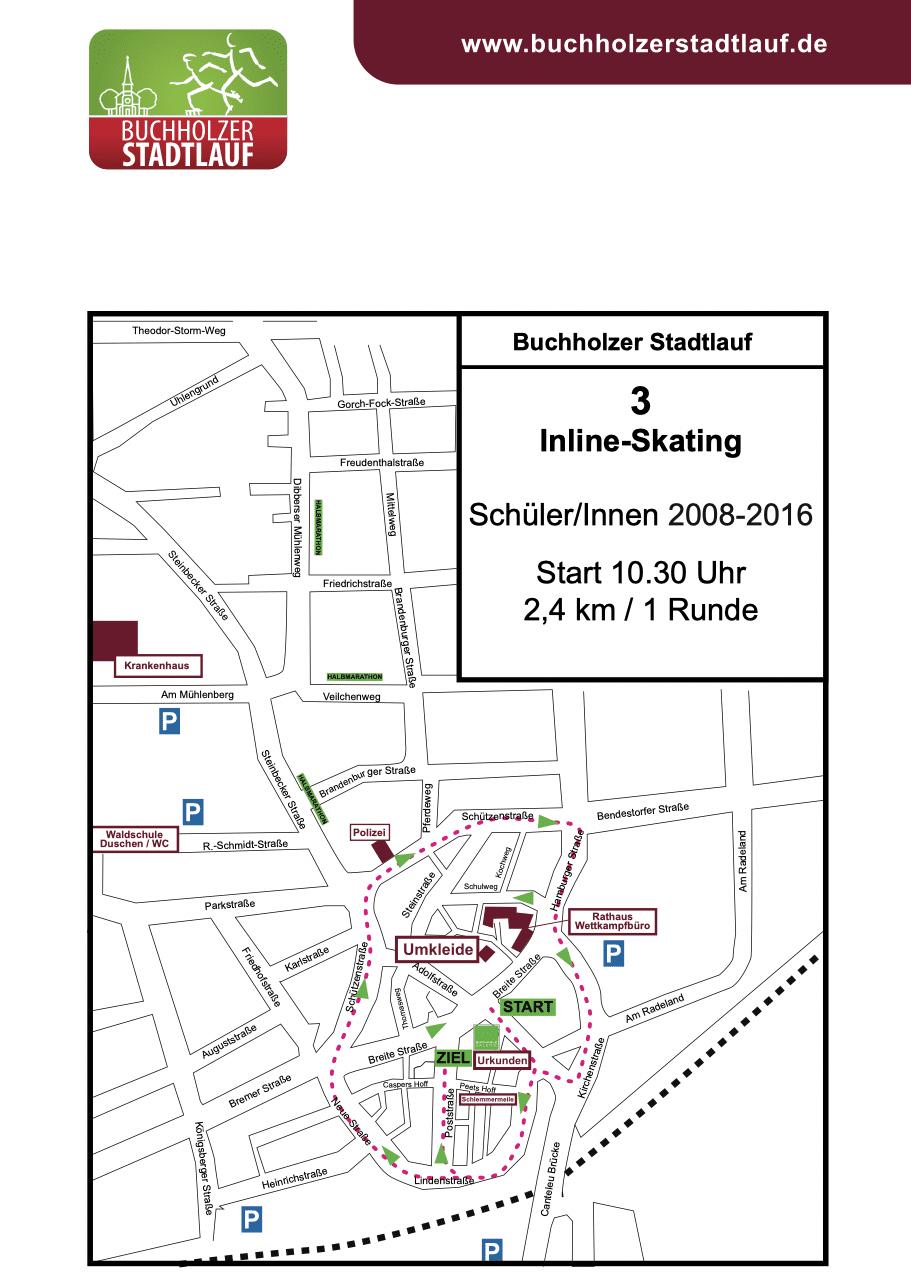 Inline-Skating SchülerInnen 2008-2016