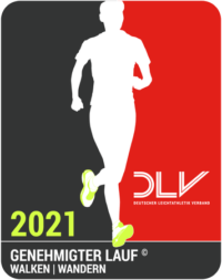 DLV-genehmigter Lauf 2021